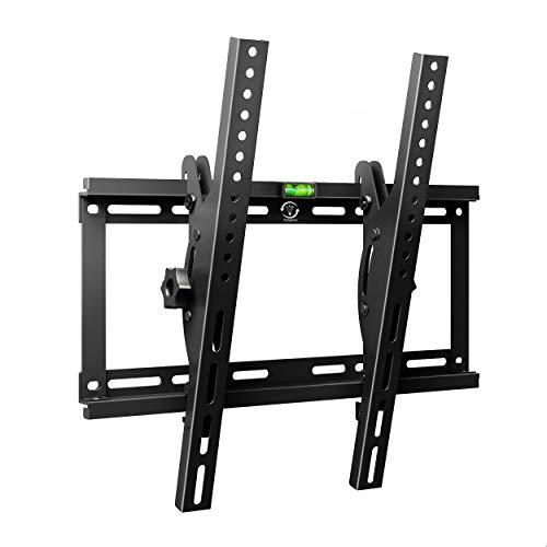 Famgizmo Inclinabile Supporto Parete per TV da 32 55 Pollici Montaggio Muro per Monitor Televisore Schermo Piatto Max VESA 400x400 Capacità 95KG