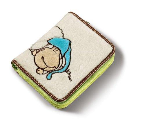 Nici 34319 - Geldbeutel Jolly Sleepy Plüsch 12 x 9.5 cm, beige