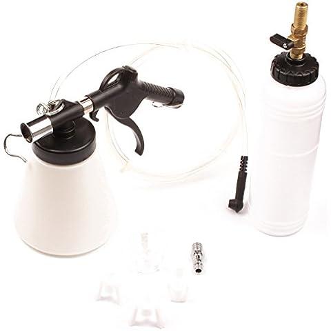 ctool centrale pneumytic Fluido Liquido Freni Bleeder Tool Kit cilindro maestro adattatori