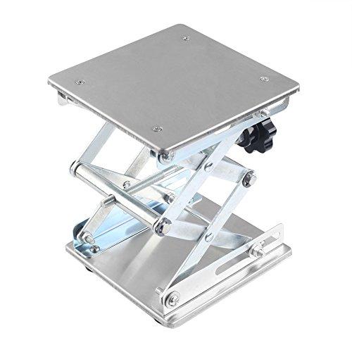 Laborhebebühne Lab Jack Scherenständer Hubtisch Lab-Lifting Edelstahl 150*150*260mm mm In Max Höhe (150*150*260mm)