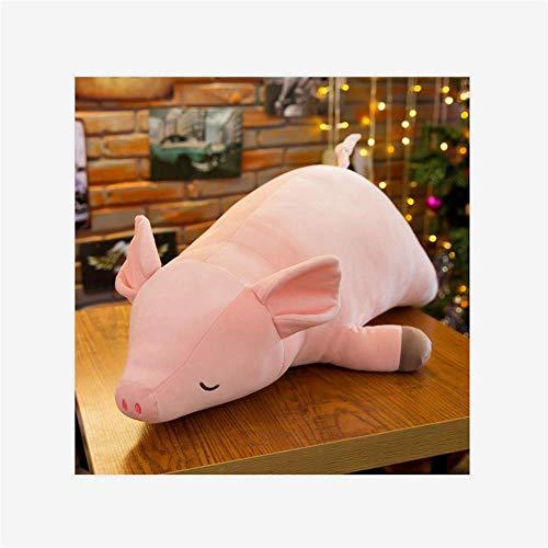 BEIHAO Cochon Rose en Peluche Petite Poudre de Porc poupée Grand Oreiller Siesta Oreiller Cadeau d'anniversaire 100 CM