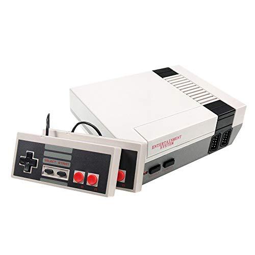 DigitCont Plug & Play Mini console classica, integrata con 620 giochi retrò classici Console con modalità a doppio lettore Supporto PAL NTSL Uscita TV Ripristina memoria infanzia