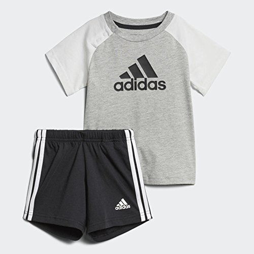 adidas Infant's Summer Tee/Short Set