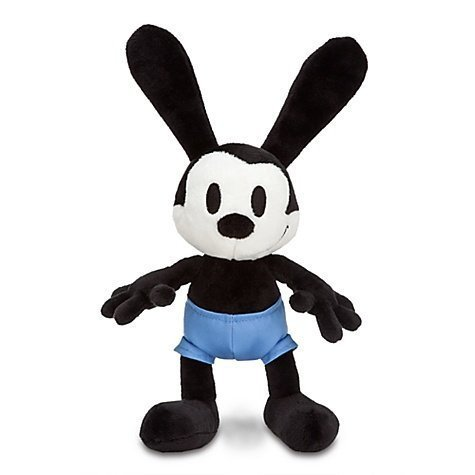 Oswald the Lucky Rabbit Mini Bean Bag Plush Toy -- 10 1/2'' H by DISNEY