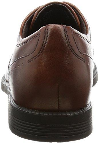 Lea Braun Schn眉rhalbschuhe Captoe Rockport Modern Brown Dressports New Herren Pq7B87