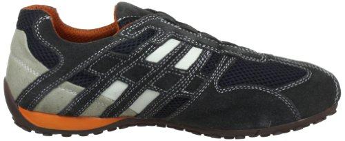 Geox U1107N02214C1300 ART C1300 GREY WHITE Grau uomo SNAKE U Grigio N DK Sneaker OFF rfFraqO
