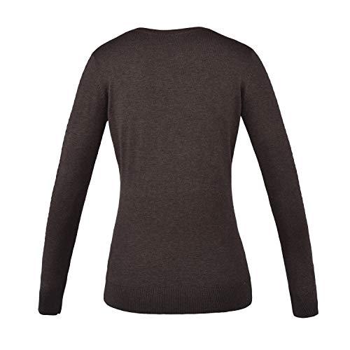 Kingsland Damen Strick-Pullover Melany Farbe Reitbekleidung Brown Licorice, Größe XS