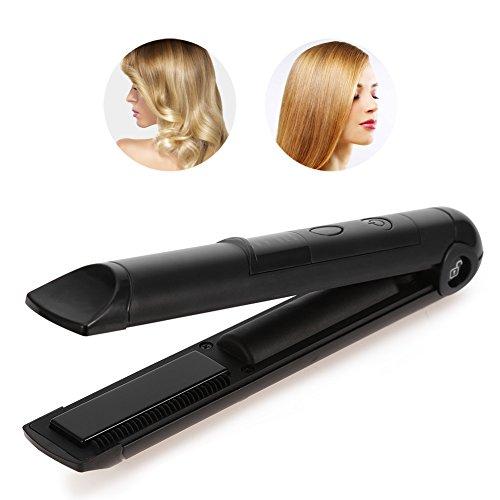 Piastra per Capelli Professionale di Lega Straightener Hair e Capelli Ricci Anti Static control temperatura Elettrica parrucchiere Salon