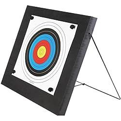 Bogenzentrale24.de Foamtarget Cible 60 x 60 pour arcs, arbalètes