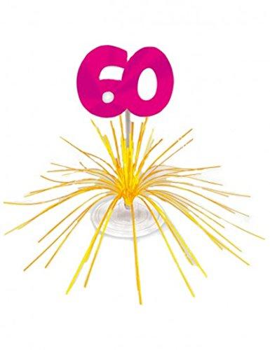 Centre de table d'anniversaire 60 ans