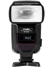 Digitek DFL-066 Electronic Flash Speedlite with in-Built Trigger for Canon, Nikon, Sony, Panasonic Mirrorless DSLR Camera (Black)