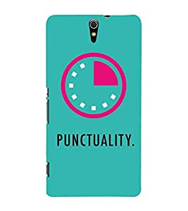 Punctuality 3D Hard Polycarbonate Designer Back Case Cover for Sony Xperia C5 Ultra Dual :: Sony Xperia C5 E5533 E5563
