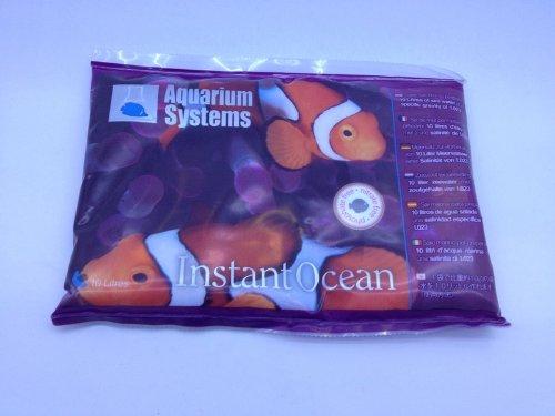 Aquarium Systems Instant Ocean Salt für Aquariophilie, 360 g / 10 L - Tank Ocean Fish