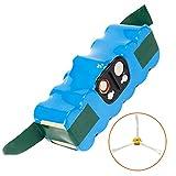 LENOGE Batterie de Remplacement Ni-MH 14,4V 4000mAh pour iRobot Roomba 500 Series...
