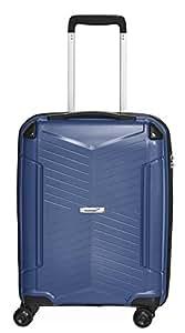 Packenger Handgepäck Silent Bordcase Hartschale M Koffer, 33 Liter, Dunkelblau