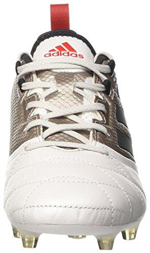 adidas Ace 17.1 Fg W, pour les Chaussures de Formation de Football Femme Blanc (Platin Metallic/core Black/core Red)