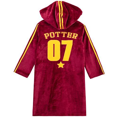 41HXP%2BfZSeL - Harry Potter - Bata para niños - Hogwarts Rojo 12-13 Años