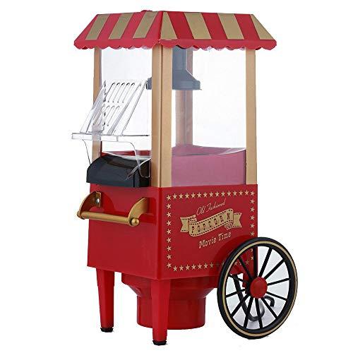 LaMei Yang Mini-Popcorn-Hersteller, kompakte elektrische Heißluft, die Mais-Maschine, Klarsichtdeckel, doppelter Sicherheitsschutz, für Zuhause-Partei-Küchengerät herstellt