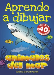 Aprendo a dibujar animales del mar/I learn to draw sea animals por Valeria Garcia Duran
