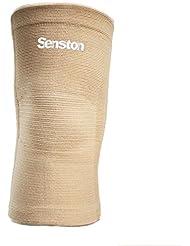 Senston 1 Piece Elastische Kompression Kniebandage Sleeve für Sport - Kniestütze für Damen und Herren - Kniehülse für Beschleunige Erholung, Schmerzen lindern, Unterstützung bieten