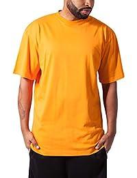 Urban Classics Herren T-Shirt Tall Tee einfarbig, lang geschnittenes Männer-Shirt in vielen Farben, Größen S - 6XL
