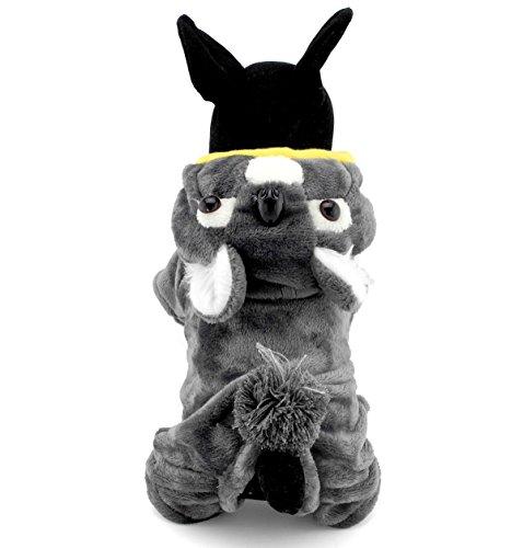 Imagen de pegasus pet ropa para cachorro perro pequeño gato polar disfraz de halloween disfraz de koala gris alternativa