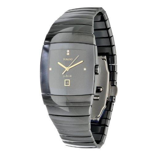 Rado hombre r13724712Sintra Negro Cerámica reloj