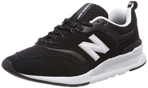 7H Sneaker, Schwarz (Black/White), 40.5 EU ()