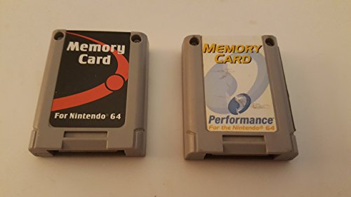 Standard Memory Card in Red - Nintendo 64 by Performance