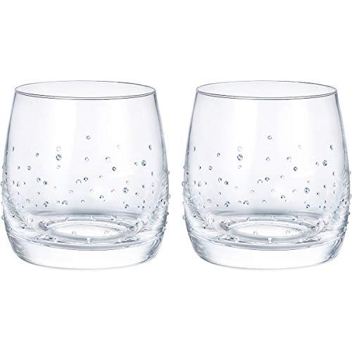 Swarovski 5527094 - set di 2 bicchieri leggeri