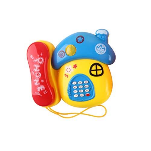 Naisicatar Infantil Simulación Niño Teléfono Ilustración...