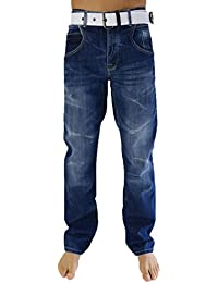 Crosshatch Baltman Dw Belted, Jeans Homme, 37W X 28L