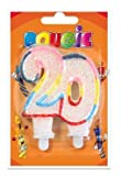 Bougie Chiffre 20 ans