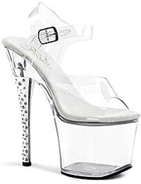 PleaserUSA Gogo-Platform High Heels Diamond-708