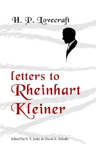 Letters to Rheinhart Kleiner