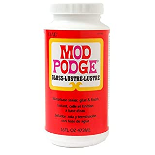 Mod Podge Gloss Waterbase Sealer, Glue and Finish - 16 oz