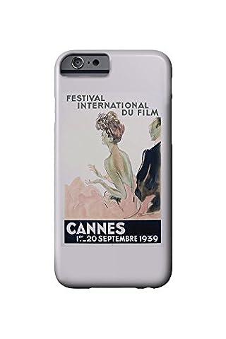 France - Cannes - Festival International du Film - 1939 - (artist: Domergue c. 1939) - Vintage Advertisement (iPhone 6 Cell Phone Case, Slim Barely There)