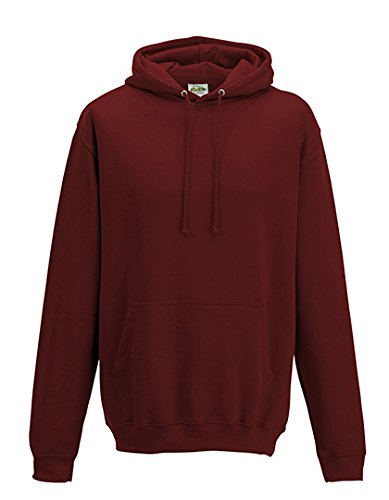 Just Hoods Herren College Hoodie JH001 Brick Red XL (Xl-brick)