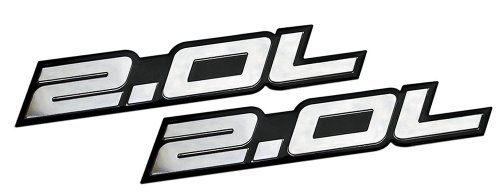2-x-pair-set-20l-liter-embossed-silver-on-black-highly-polished-silver-real-aluminum-auto-emblem-bad