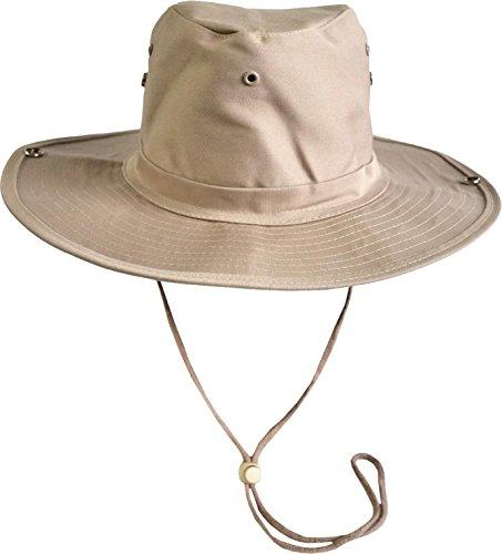 normani US GI Buschhut mit breiter, umklappbarer Krempe Farbe Khaki Größe ()