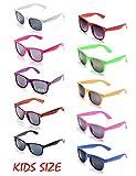 Onnea Paquete 10 Piezas Gafas de Sol de Fiesta 100% de Protección UV para Niño (10