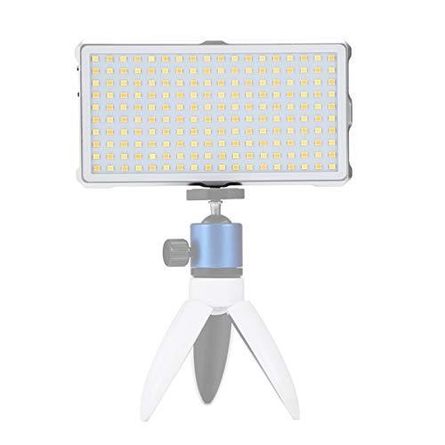 LED-professionelle Fotografie Fotografie Kamera Ei TANGZHIBAO F18 Tasche 180 LEDs Professionelle Vlogging Fotografie Video & Foto-Studio-Licht mit OLED-Display for Canon/Nikon DSLR-Kameras (weiß)