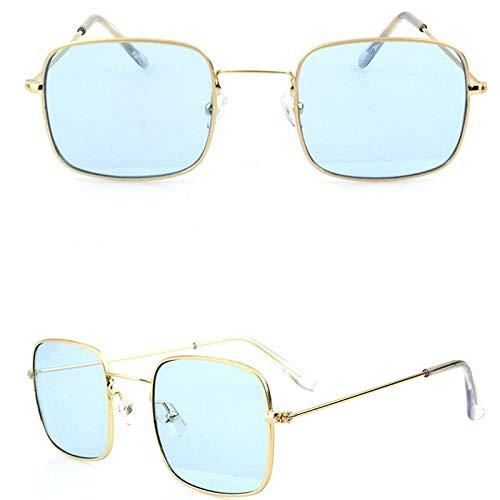 PGFMVP Sonnenbrillen Vintage-Sonnenbrille für Frauen zur Verhinderung von Blendung Hochbeständiger Rahmen Outdoor-Enthusiasten Linsenhöhe: 42 mm, Linsenbreite: 50 mmBlau