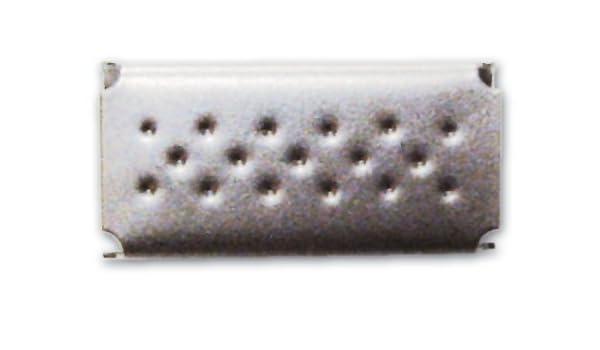 Sigilli fibbia per reggetta 12 mm in acciaio fermaglio blocca reggia 500 pz