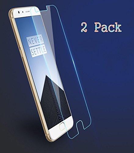 2x OnePlus 3 / OnePlus 3T Protectores de Pantalla, EJBOTH Vidrio templado...