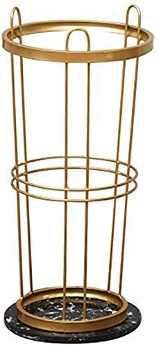 Umbrella stand Soporte Simple para paragüero Redondo Grande, paragüero Moderno en Metal para Entrada...