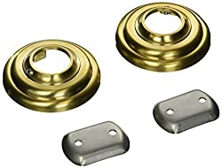 Jaclo 6203-SG Pair Shower Bar Flanges, Satin Gold