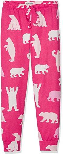 hatley-madchen-schlafanzughose-tween-fuchsia-bears-lounge-pants-rosa-pink-10-jahre