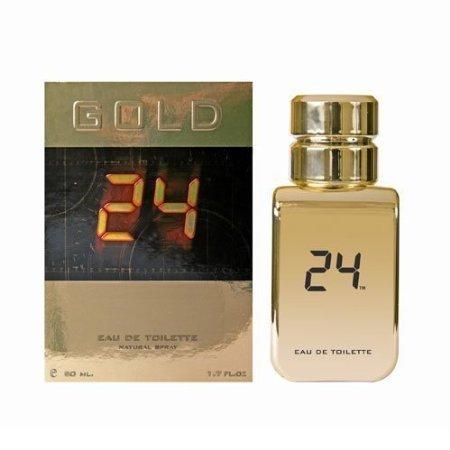 ScentStory 24 Gold The Fragrance by EAU De Toilette Spray 1.7 oz / 50 ml (Men) - Gold-1.7 Ounce Spray