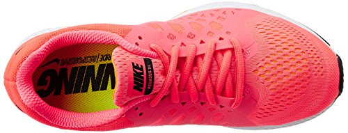 Nike Wmns Nike Air Zoom Pegasus 31, chaussures de sport femme - 0 (HYPER PUNCH/BLACK-TOTAL ORANGE)